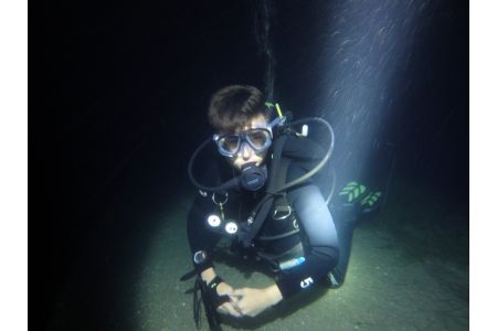 Discover night diving
